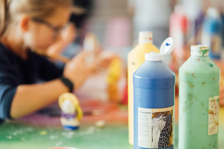 Farben im Kunstunterricht